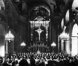 Paris - Invalidendom Haydn: Die Schöpfung Orchestre National de Lille Jean Claude Casadesus