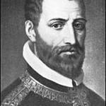 """Arcadelt, Jacob (1504-1568)  Jakob Arcadelt, auch: Jachet Arkadelt, Archadelt, Hercadelt, Arcadet und Arcadente, auch Jacobus Flandrus [1], (* 1504, 1506 oder (unwahrscheinlicher) 1514; † nach 1562, möglicherweise 4. Oktober 1568 in Paris) war ein niederländischer Komponist und Kapellmeister.  Herkunft: Die niederländische Herkunft Arcadelts ist durch die Tatsache sichergestellt, dass er in einer Eintragung des päpstlichen Kapellregisters Jacobus Flandrus genannt wird. Sein Geburtsort lässt sich nicht mit abschließender Sicherheit festlegen. Van der Straeten vermutet anhand archivalischer Funde, in denen er Namen antraf, die er mit dem Komponisten in Verbindung bringt, dass Arcadelt in Brügge oder Brabant geboren sei. Wer der Lehrmeister Arcadelts gewesen war, ist unbekannt. Behauptungen, Arcadelt sei ein Schüler Josquins gewesen (Walther behauptet dies in seinem Lexikon), erscheinen aus zeitlichen Gründen unwahrscheinlich, Josquin starb bereits 1521. Das Jahr der Übersiedlung nach Italien ist unbekannt, Beweise für das von Fétis angegebene Jahr """"gegen 1536"""" fehlen.  Geburtsjahr: Van der Straeten gibt als Geburtsjahr Arcadelts das Jahr 1514 (oder um dieses Jahr herum) an: « Arcadelt figure dans la chapelle Julienne sous la dénomination de Jacomo Fiamingo et avec le titre de ‹ premier Maitre ›, à partir de 1539. En lui assignant 25 ans, à cet date, on arrive à placer approximativement l'année de sa naissance en 1514. » Angenommen also, Arcadelt sei 1514 geboren, so hätte er bereits mit 18 Jahren seine ersten geistlichen Kompositionen – drei vierstimmige Motetten – im zweiten Band von Jacques Modernes Motetti del fiore (Lyon, 1532) herausgegeben und seine ersten weltlichen Tonsätze mit 23 Jahren veröffentlicht.  Das gelegentlich unter Arcadelts Namen gesungene vierstimmige Ave Maria stammt in der bekannten Form nicht vom Komponisten, vielmehr handelt es um eine Bearbeitung einer dreistimmigen weltlichen Chanson Arcadelts aus der Feder des französischen Komponisten und"""