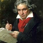 Beethoven, Ludwig van (1770–1827); Gemälde von Joseph Karl Stieler, 1820
