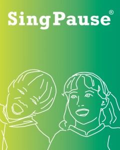 SingPause - seit 2011 durch das Bundespatentamt als Wort-Bildmarke genehmigt und eingetragen.