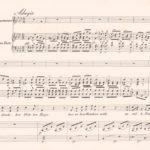 Erste Seite der Komposition von Joseph Kreutzer