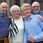 Familie Henderson aus Kopenhagen. Thomas Uwe Henderson, Matthew Cope, Heidrun Henderson und Henrik Kjeldsholm (v.r.n.l.)