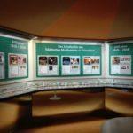 Kleiner Einblick in die Ausstellung 200 Jahre Musikverein - hier das Schallarchiv