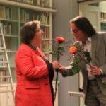 Heinrich Heil dankt Frau Prof. Dr. Büchter-Römer für die schöne Lesung