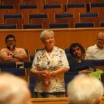 Angelika Liedhegener wird als Ehrenmitglied geehrt